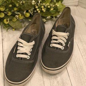 Vans Unisex Era Gray Sneakers Size 7 (Women's)